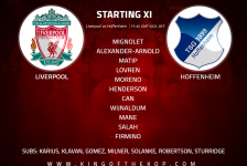 Liverpool FC vs Hoffenheim