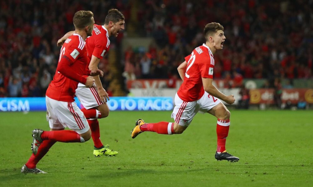 See Ben Woodburn Score for Wales!