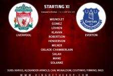Liverpool team v Everton