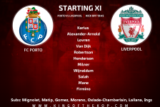 FC Porto v Liverpool