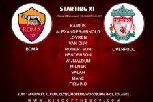 Roma v Liverpool 2 May 2018