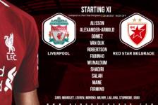 Liverpool v Red Star Belgrade 24 October 2018
