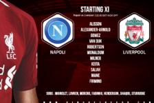 Napoli v Liverpool champions league 3 October 2018