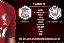 Liverpool v Manchester City 10 November 2019