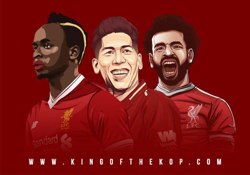 Mohamed Salah, Sadio Mane, Roberto Firmino