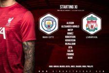Confirmed: Liverpool team v Man City
